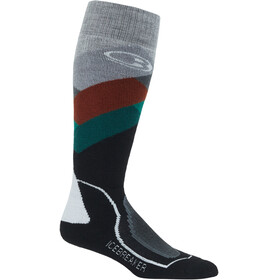 Icebreaker OTC Medium Ski Socks Men Glades/Bottle/Saddle/Snow